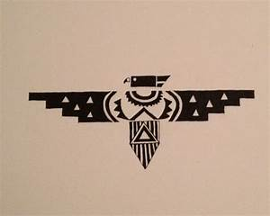 Phoenix Bird Drawing Native American Thunderbird Google Leit With Images