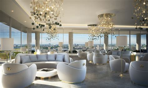 home interiors by design 50 storey aykon nine elms to feature interiors by versace