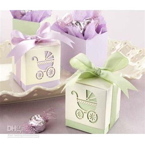 colorful gift box cube pram piercing wedding baby shower