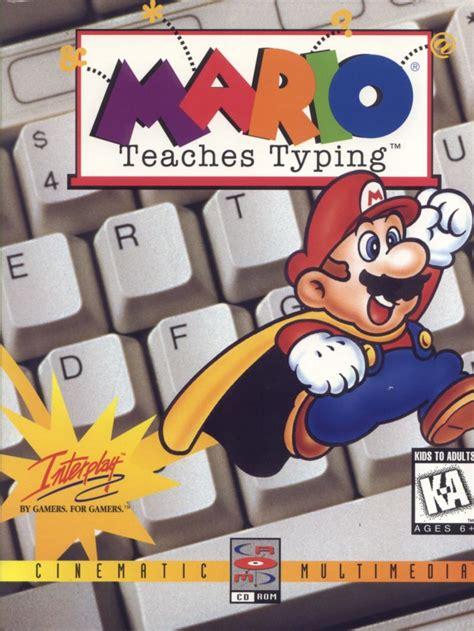 Mario Teaches Typing for DOS (1992) - MobyGames