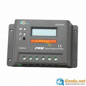 12v 24v Solar Charge Controller Pwm Lcd Settable Dual