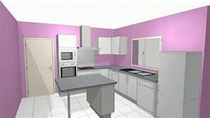 meuble de cuisine blanc quelle couleur pour les murs youtube With meuble de cuisine blanc quelle couleur pour les murs