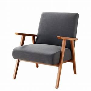 Maison Du Monde Sessel : vintage sessel anthrazitgrau hermann maisons du monde ~ Watch28wear.com Haus und Dekorationen