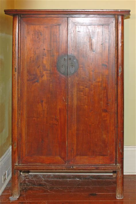 antique asian furniture  shandong china armoire cabinet