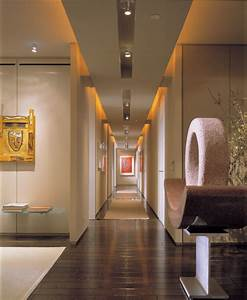 Led lighting in a hallway home design ideas