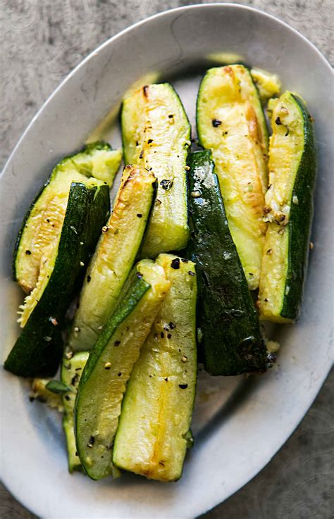 hello cuisine roasted zucchini with garlic recipe simplyrecipes com
