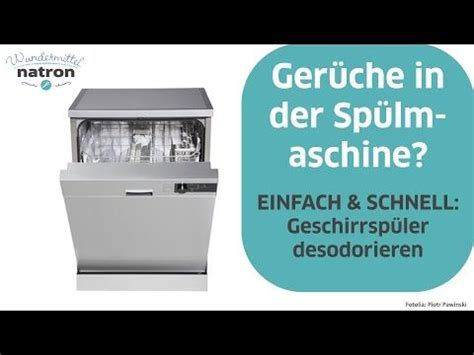 Backofen Stinkt Nach Reinigung by Geschirrsp 252 Ler Reinigen Mit Natron G 252 Nstig Und Effektiv