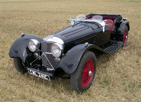 Jaguar Ss 100 And C-type Replica For Sale
