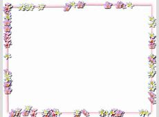 Flowers Borders PNG Transparent Flowers BordersPNG Images