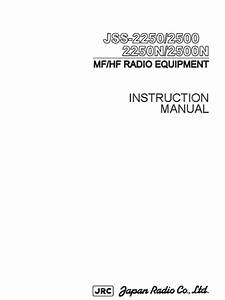 Jrc Jue 75c User Manual