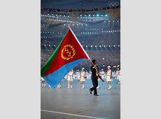 Eritrean Flag on London Olympics 2012 – Opening Ceremony