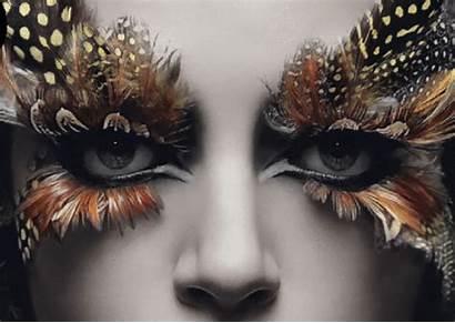Gifs Artist Blind Amazing George Redhawk Eyes