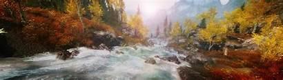 Skyrim Nature Landscape Display Multiple Elder Scrolls