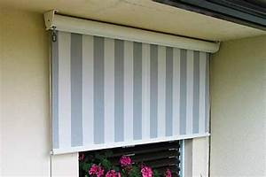 balkon sonnenschutz rollo gi54 hitoiro With markise balkon mit tapeten für küche