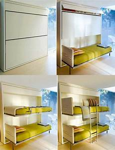 Multiple chemical survivor multi purpose furniture for a for Space saver beds