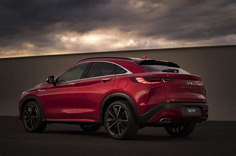 Infiniti Launches New QX55 Crossover Inspired By FX
