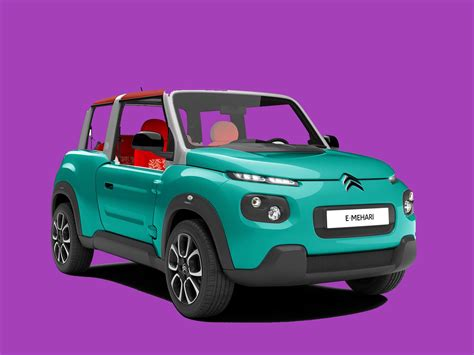 New All Electric Cars by Citroen Is Rolling Out A New All Electric E Mehari This