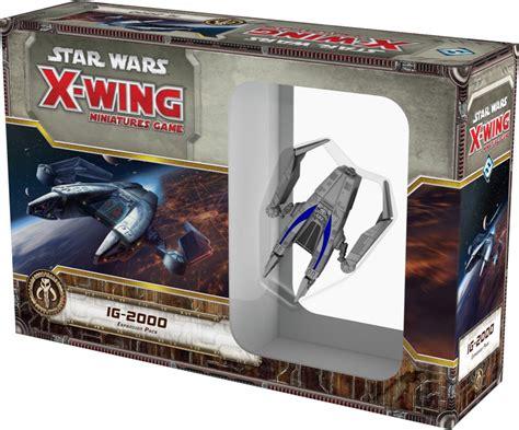 10h a 21h domingo y festivos: Star Wars: X-Wing - IG-2000 ~ Juego de mesa • Ludonauta.es