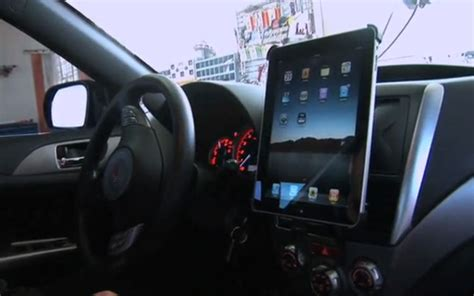 scosche unveils apple ipad  car mount kit calls  ikit