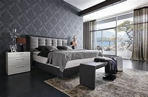Box Spring Bett 25 Ideen für modernes Schlafzimmer mit