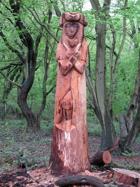 hainault forest tree sculpture   roger jones