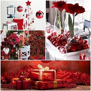 Tischdeko Für Weihnachten Ideen : weihnachtsdeko in rot f r eine romantische feststimmung ~ Markanthonyermac.com Haus und Dekorationen