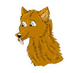 Cartoon Female Wolves