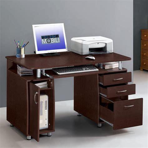 Techni Mobili Storage Computer Desk by Techni Mobili Rta 4985 Ch36 Complete Workstation Computer