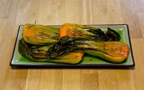 recipe spicy grilled bok choy koreafornian cooking