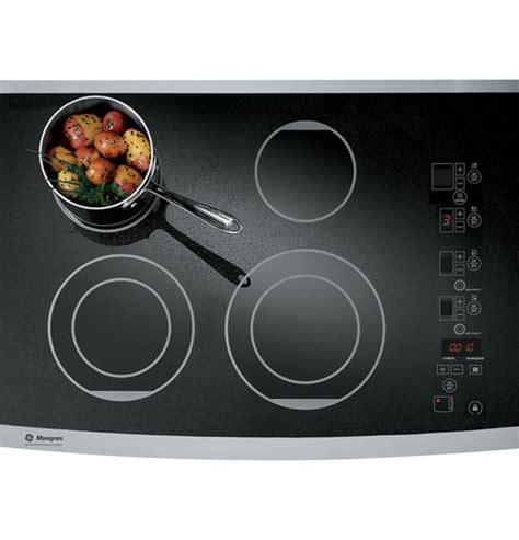 zeursfss ge monogram  digital electric cooktop monogram appliances