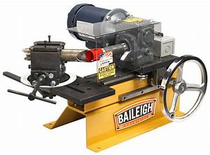 Baileigh TN-300 Tube and Pipe Notcher