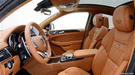 Новый топовый mercedes gle coupe 63s amg (c167) 2021 уже в россии. 2016 BRABUS 850 6.0 Biturbo 4x4 Coupé based on Mercedes-AMG GLE 63 Coupe - Interior, Front Seats ...