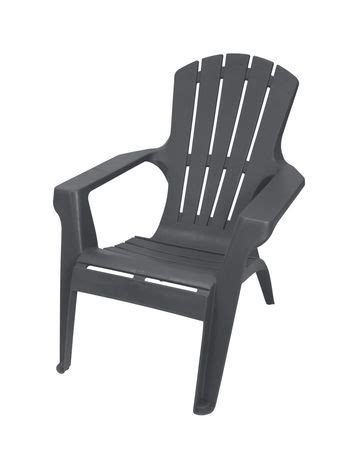 gracious living resin adirondack chair walmart ca