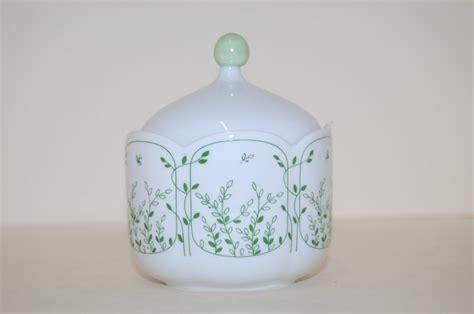 Zuckerdose Fleur grün Blätterzauber Tirschenreuth