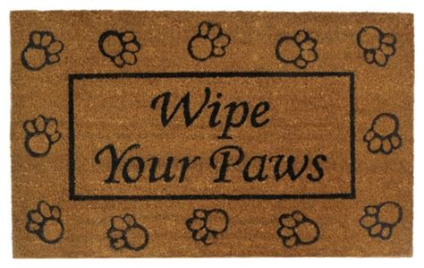 Wipe Your Paws Doormat by Quot Wipe Your Paws Quot Welcome Mat Doormats By The House Of