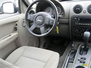 Medium Slate Gray Interior 2006 Jeep Liberty Sport 4x4