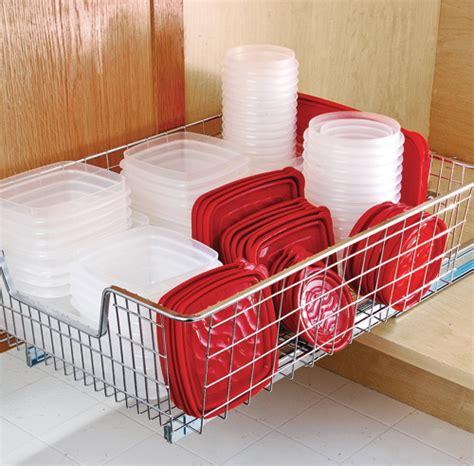 comment ranger la cuisine comment ranger efficacement les contenants de plastique