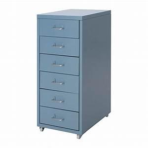 Caisson Tiroir Ikea : helmer caisson tiroirs sur roulettes bleu ikea ~ Melissatoandfro.com Idées de Décoration