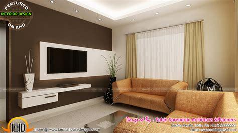 living rooms modern kitchen interiors  kerala kerala