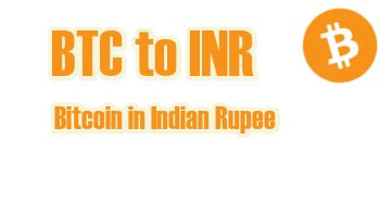Indian rupee exchange rates and currency conversion. Convert Bitcoin (BTC) to Indian Rupee (INR): 271,400.18 ...