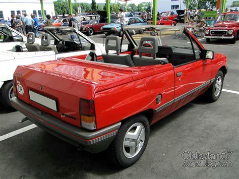 Opel Corsa A I130 Irmscher Cabriolet 1983 1988