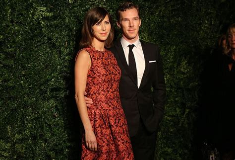 Benedict Cumberbatch and his fiancee Sophie Hunter make a ...