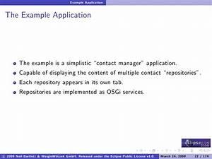 Component Oriented Development in OSGi with Declarative ...