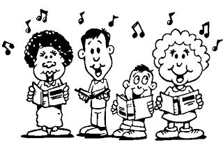 children singing clipart black and white sing clip exclusive