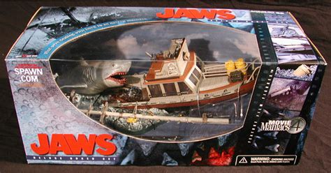 Jaws Boat Figure by Jaws Deluxe Boxed Set Mcfarlane Toys Maniacs