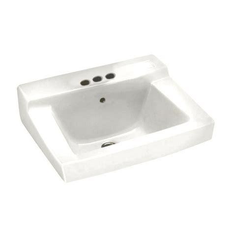 american standard white sink american standard declyn wall mounted bathroom sink in