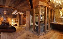 HD wallpapers deco interieur chalet bois ...
