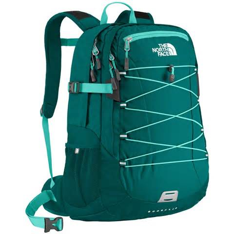 Women North Face Borealis Backpack Blue