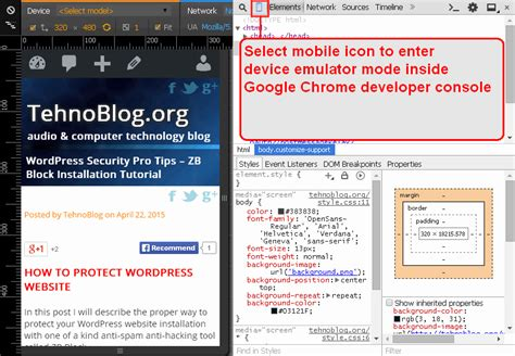 mobile device emulator mobile friendly responsive design as a ranking
