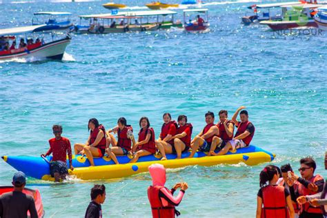 Banana Boat Tanjung Benoa Bali by Bali Water Sports Deals Parasailing Banana Boat Jet